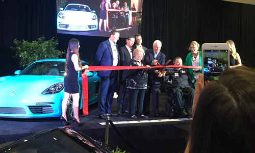 Porsche West Broward Grand Opening Ribbon Cutting